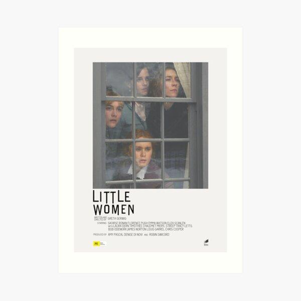 Little Women Movie Poster Art Print