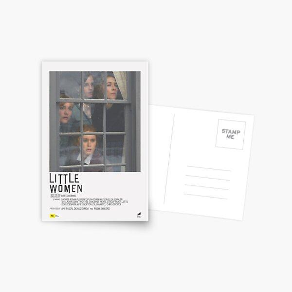Póster de película Little Women Postal