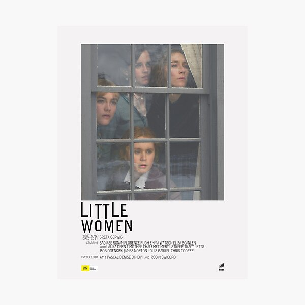 Little Women Movie Poster Photographic Print
