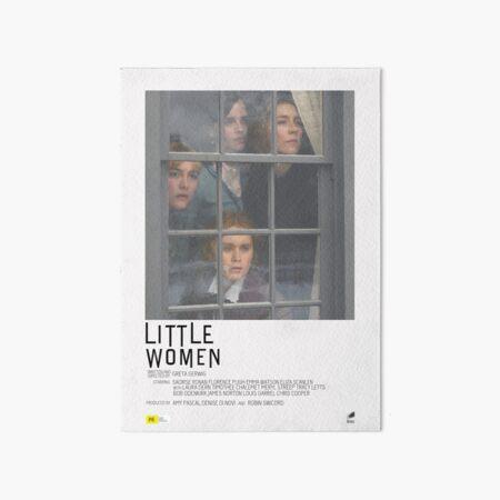 Little Women Movie Poster Art Board Print