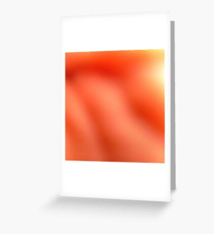 Soft Orange Greeting Card