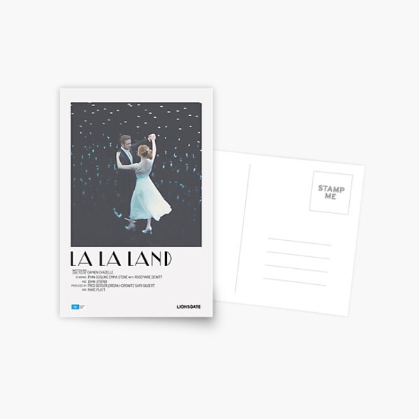 La La Land Movie Poster Postcard