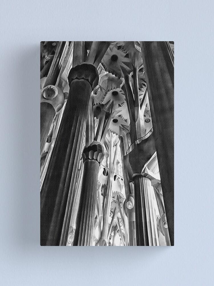 Alternate view of Columns, La Sagrada Familia Canvas Print