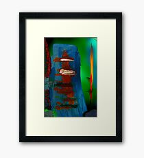 Artistic in the blur 3 Framed Print