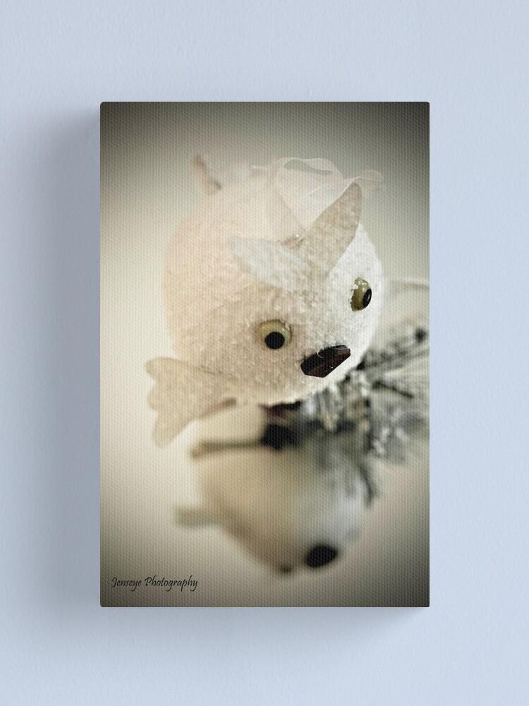 Alternate view of Snow Owl Canvas Print