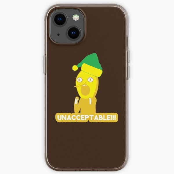 Adventure Time Unacceptable Christmas iPhone Soft Case