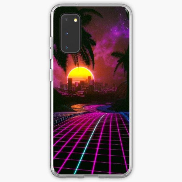 Outrun sunset Samsung Galaxy Soft Case