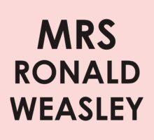 Mrs Ronald Weasley