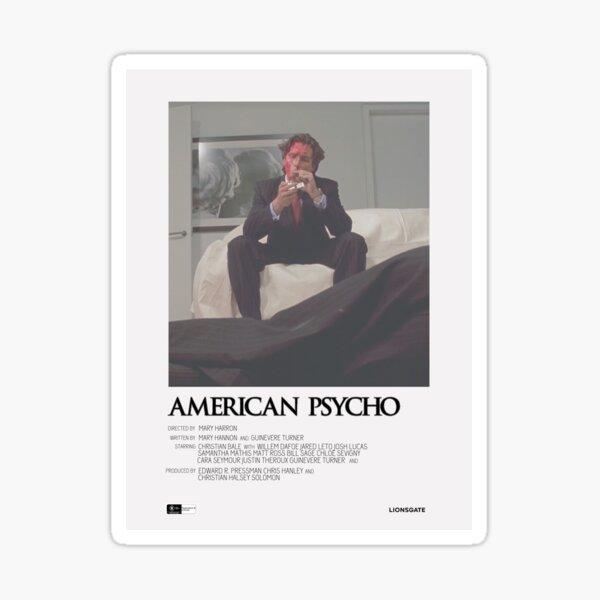 American Psycho Movie Poster Sticker