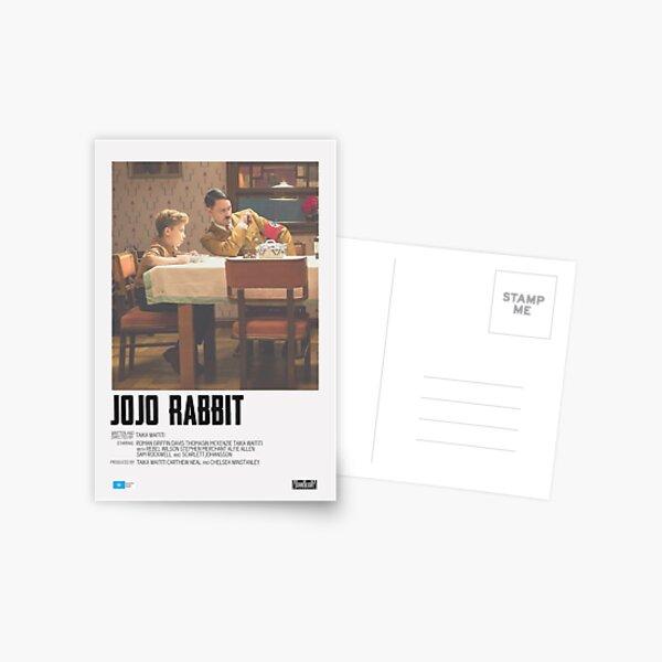 Jojo Rabbit Movie Poster Postcard