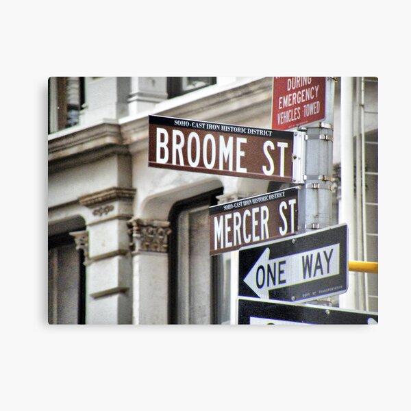 Broome and Mercer Metal Print