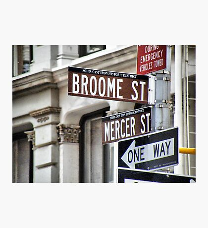 Broome and Mercer Photographic Print