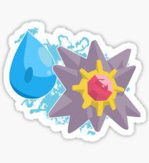 Cascade Badge Starmie Sticker