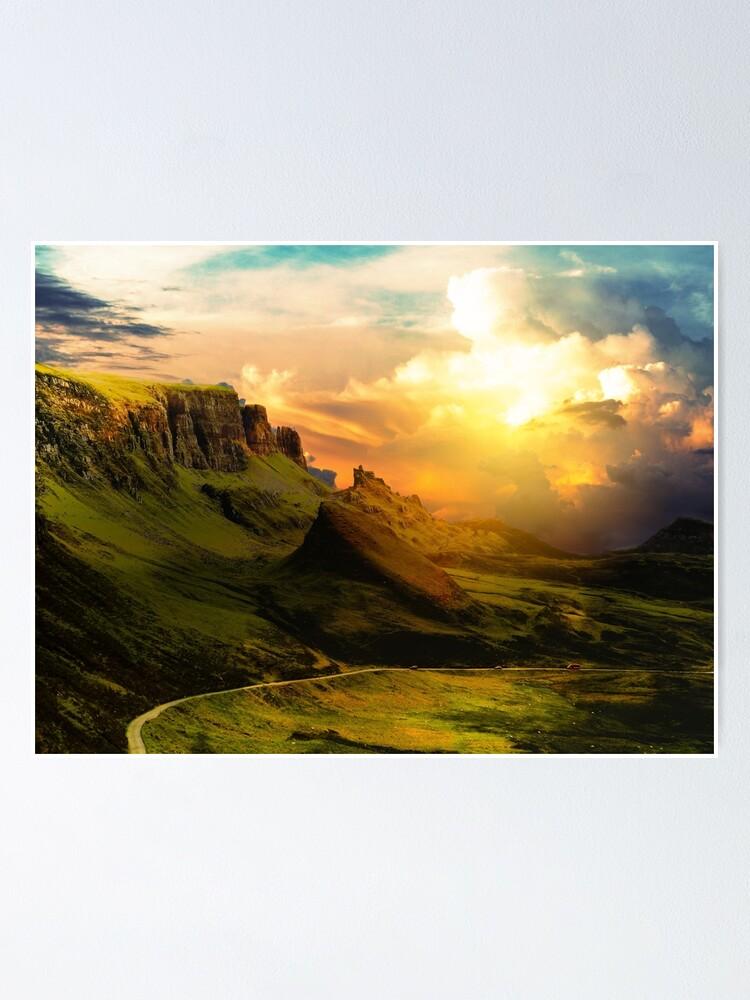 Alternative Ansicht von Highland Fantasy Poster