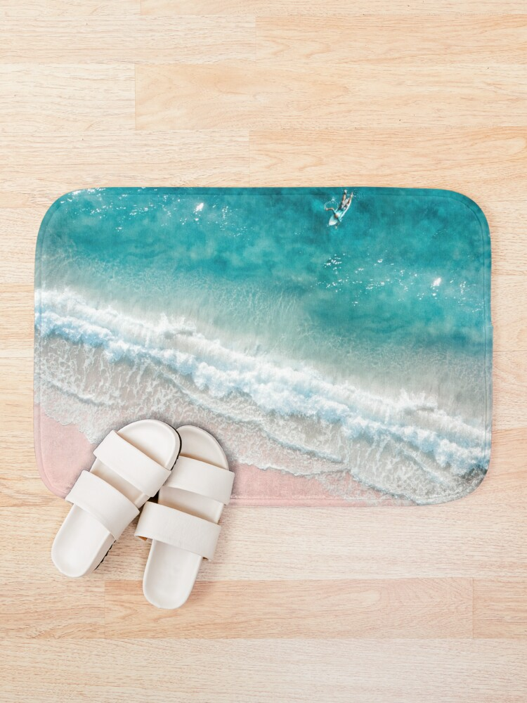 Alternate view of Summer Beach Bath Mat
