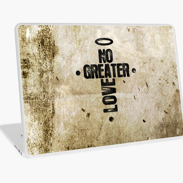 No Greater Love Laptop Skin