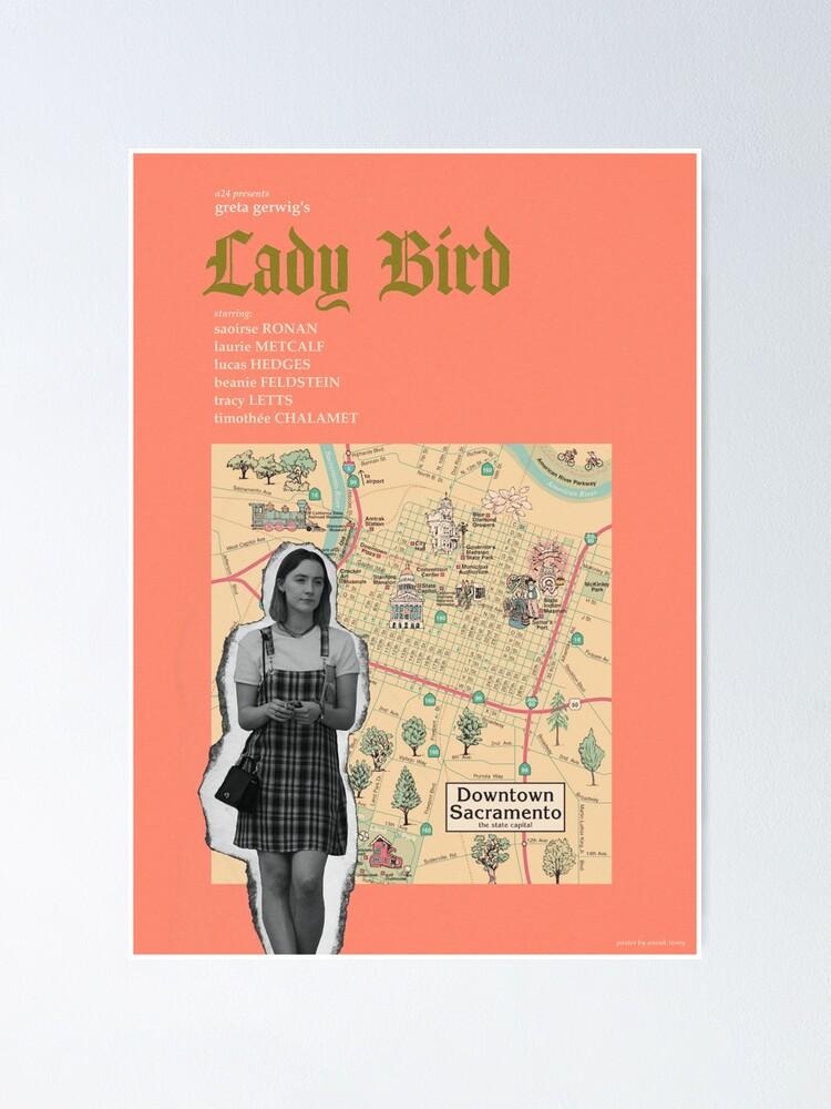 Alternate view of LADY BIRD (2017)  Poster