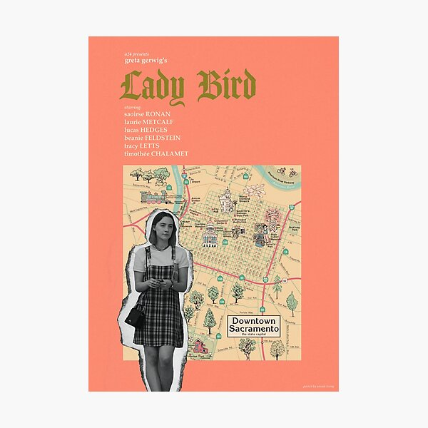 LADY BIRD (2017)  Photographic Print