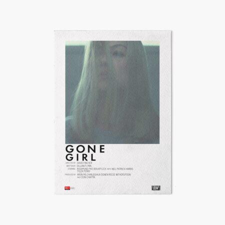 Gone Girl Movie Poster Art Board Print