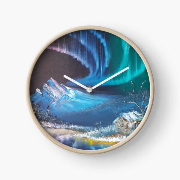 Spiral Aurora  Clock