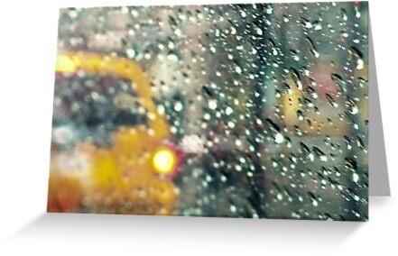 NYC hard rain by Peppedam