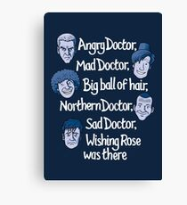 Angry Doctor Canvas Print