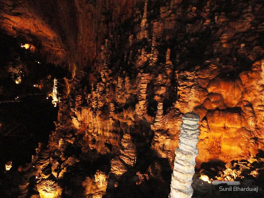 Stalactites and Stalagmites of caves in Italy by Sunil Bhardwaj