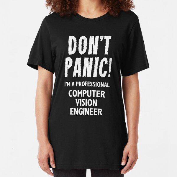 Computer Vision Engineer Slim Fit T-Shirt