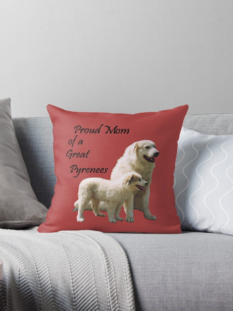 Great Pyrenees Proud Mom by GreatPyrFancy
