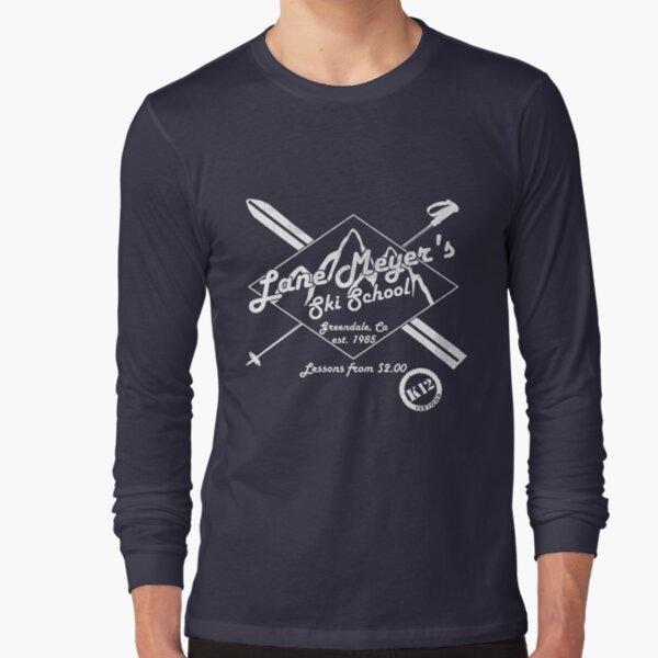 Lane Meyer École de ski Dark T-shirt manches longues