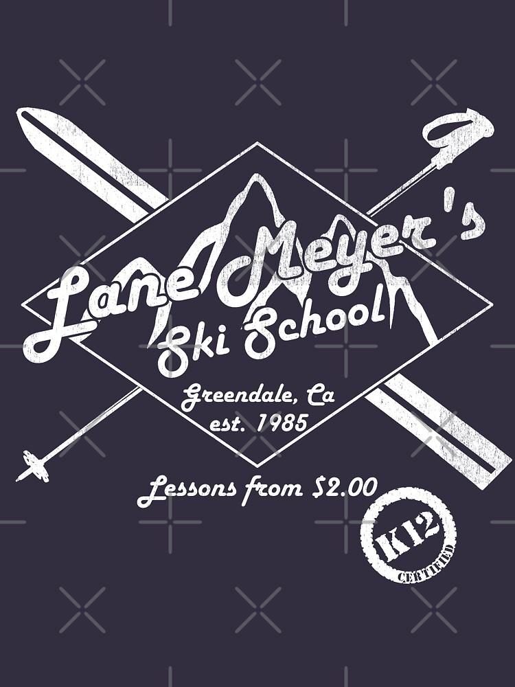 Lane Meyer Ski School Dark | Long Sleeve