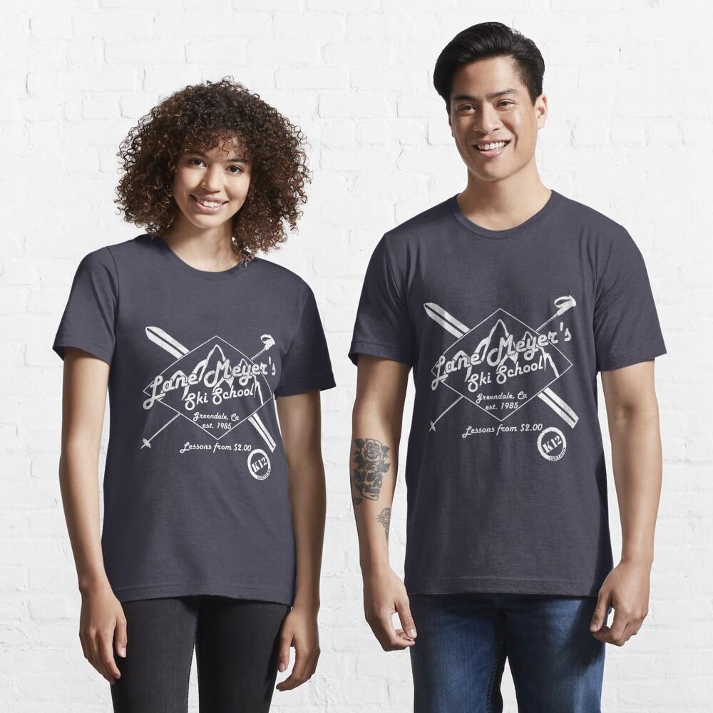 Lane Meyer Ski School Dark Essential T-Shirt
