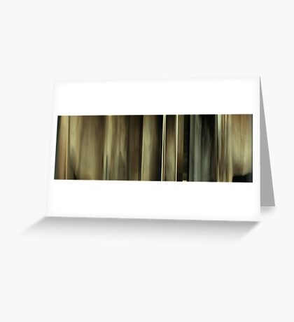 Moviebarcode: Sequence from Harry Potter and the Deathly Hallows: Part 1 (2010) Greeting Card