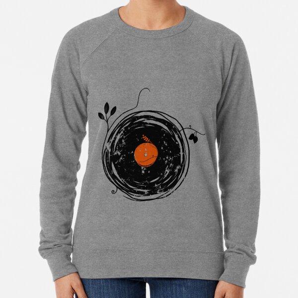 Enchanting Vinyl Records Vintage Lightweight Sweatshirt