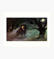 The Legend of Sleepy Hollow Art Print