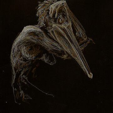 Pelican by Grenfyra