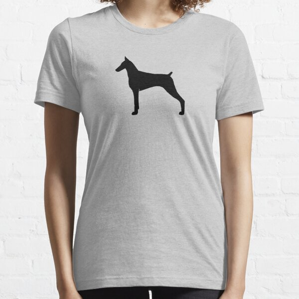 Doberman Pinscher Silhouette(s) Essential T-Shirt