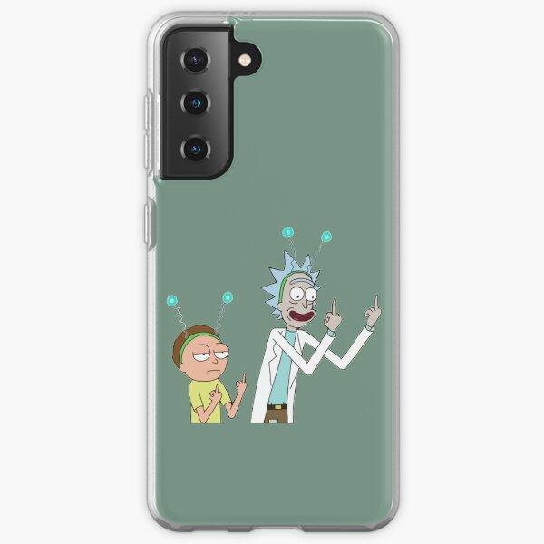 Coques sur le thème Rick Morty pour Samsung Galaxy | Redbubble