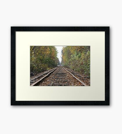 The Middle Crossing Framed Print