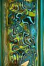 Green Blue Glass II by Jeannette Sheehy