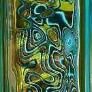 Green Blue Glass II by Jeannette Sheehy
