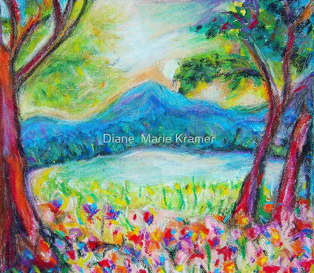 Evening on Long Pond by Diane  Marie Kramer