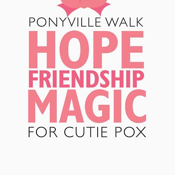 Ponyville Walk for Cutie Pox by dfragrance