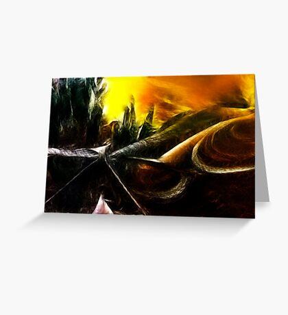 Organic Paradoxon #2 Greeting Card