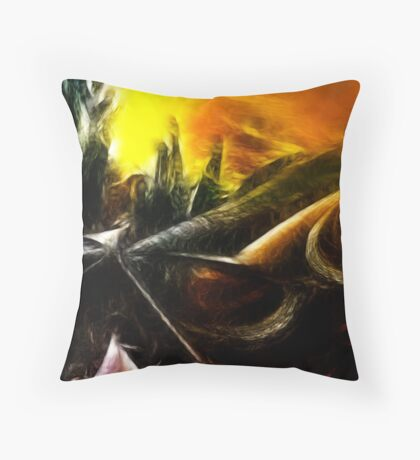 Organic Paradoxon #2 Throw Pillow