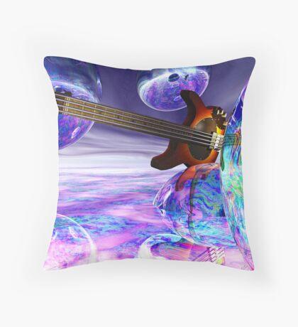 Heaven's Bass #2 Throw Pillow