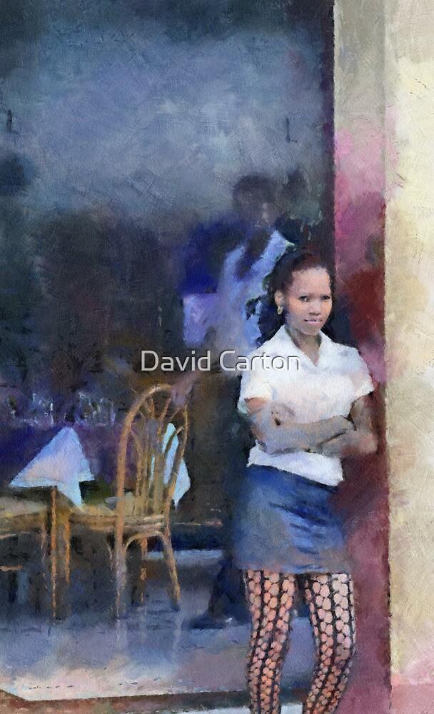 Restaurant, Trinidad, Cuba by David Carton