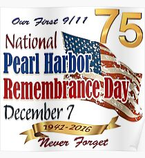 75th Anniversary of Pearl Harbor Poster