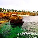 San Diego Coastline - California by Jessica Chirino Karran