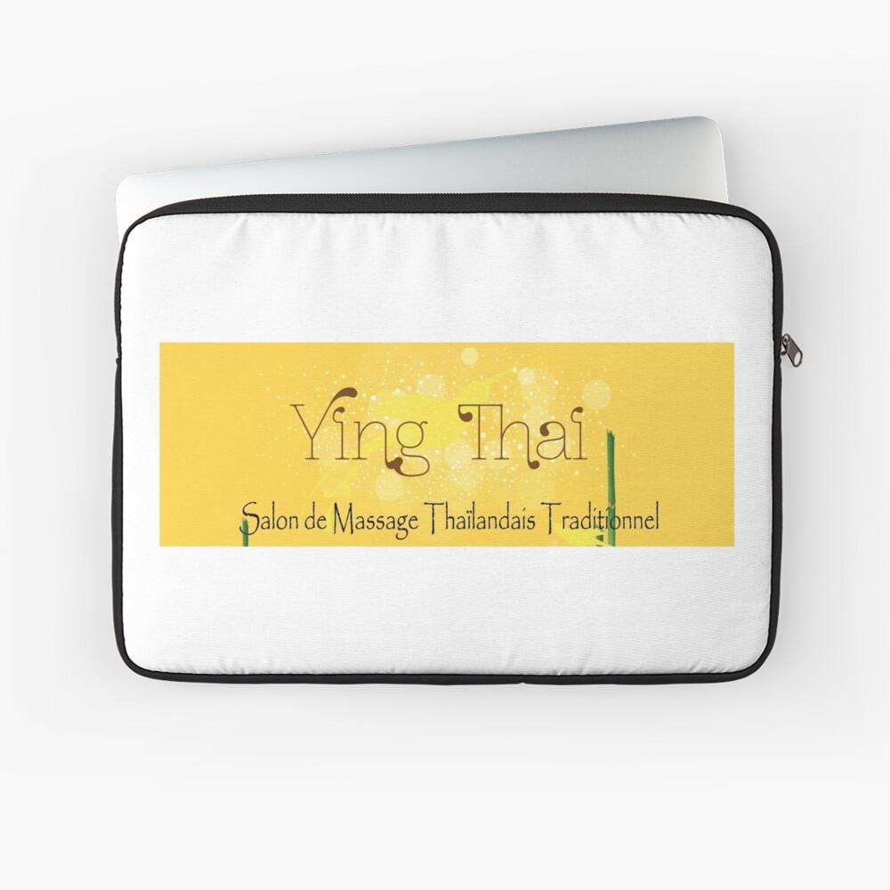 Housse d'ordinateur «Institut de Massage Thaïlandais Traditionnel à Orléans»